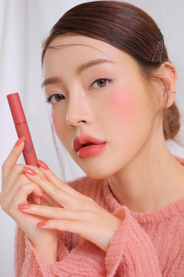 Son Kem 3CE Velvet Lip Tint – Cheeky Rose – Mỹ phẩm hàng hiệu cao ...